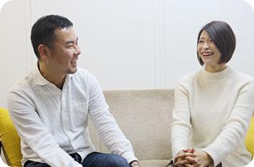 オフィスBLITZ社長・マスダ氏,滝川穂乃果さん