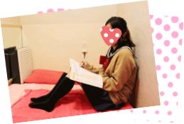 休憩時間は勉強もできます!