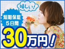短期5日間保証30万円!