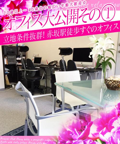 赤坂駅の中心部のオフィスです