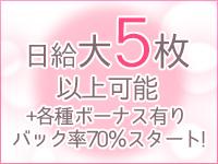 日給5万円以上!完全車送迎!