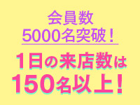 8月開店で既に会員数5000名!