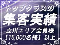 立川トップクラスの集客数!
